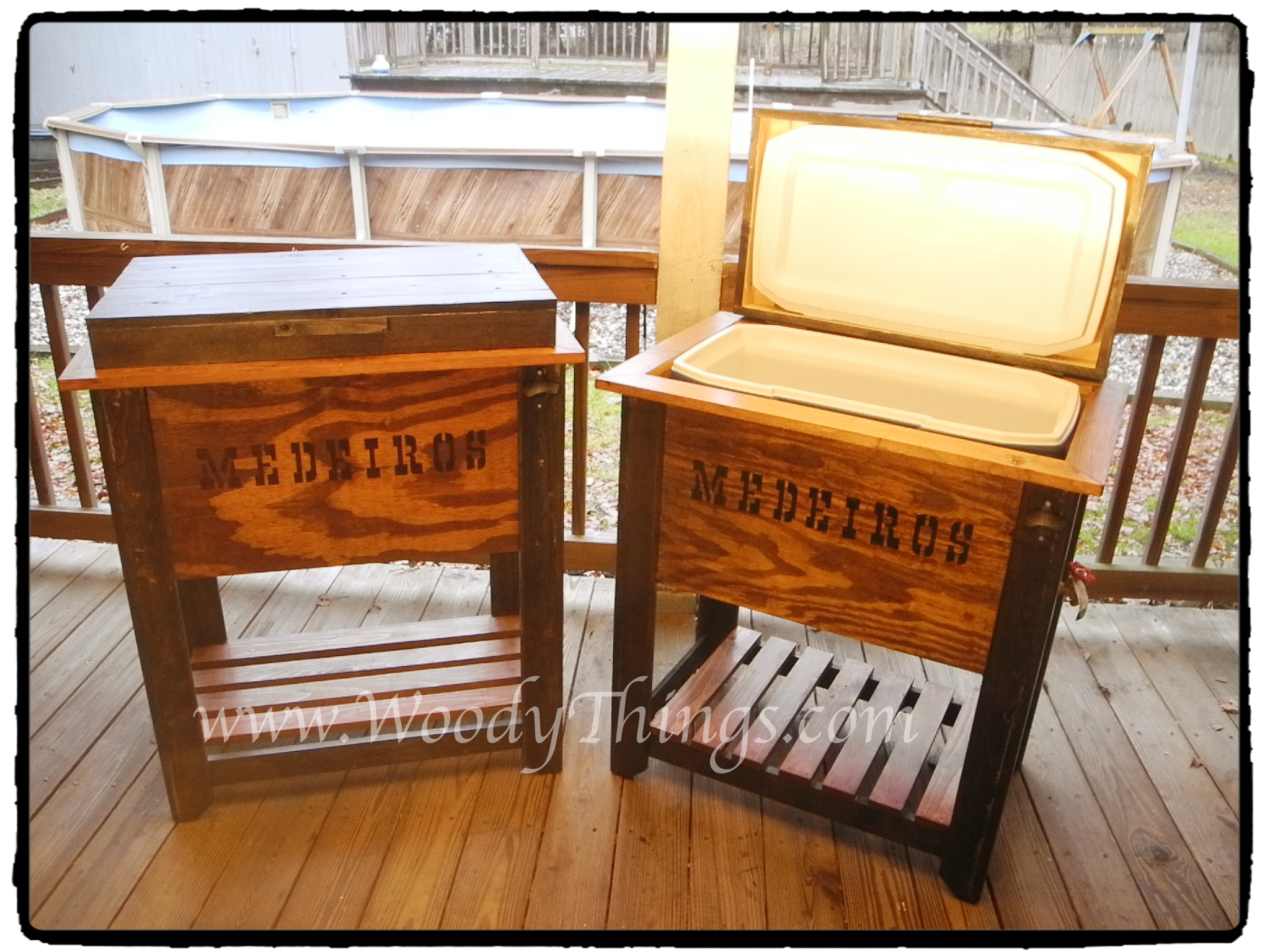 how to build a wooden chest bunnings