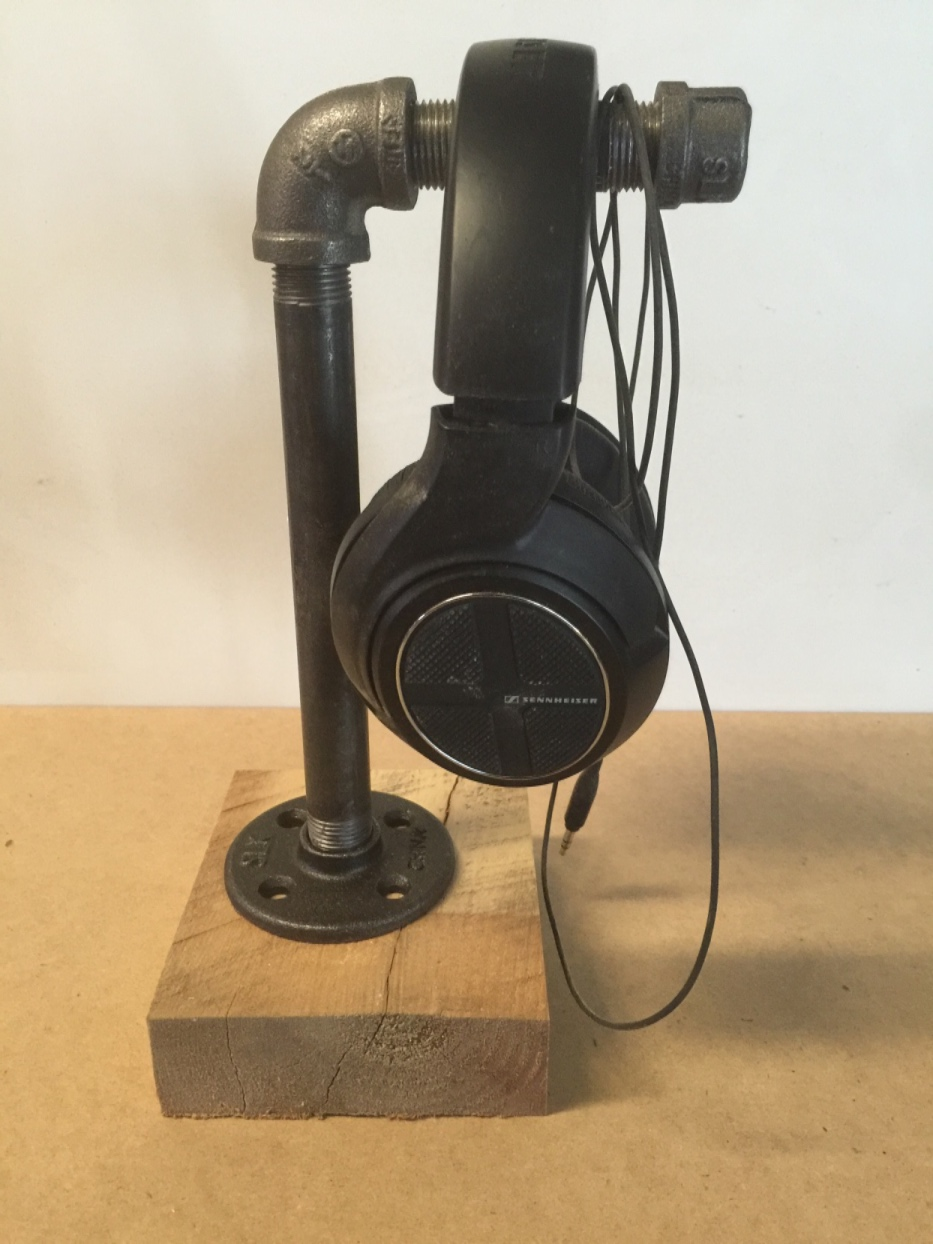 Diy Industrial Pipe Headphone Stand Woody Things Llc